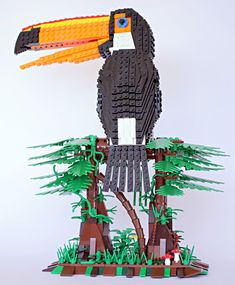 Tom Poulsom, a gardener and tree surgeon from Bristol, turned his passion for birding into these amazing LEGO brick bird replicas. Poulsom's designs didn't go unappreciated - 10,000 supporters on LEGO Ideas voted to start mass-producing 3 of his birds, and the first kit hits stores in January.