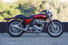 1974 Norton Commando - sick ride