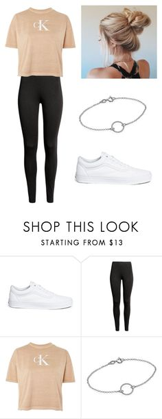 """""""No name#45"""" by kyley-mays on Polyvore featuring Vans and Calvin Klein"""