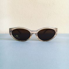 336628a4f10 Depop - The creative community s mobile marketplace. Clear SunglassesVintage  SunglassesCat Eye ...