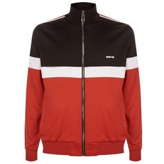 Givenchy Colourblock Sports Jacket (€1.025) ❤ liked on Polyvore featuring men's fashion, men's clothing, men's sportcoats, mens sports apparel and givenchy mens clothing
