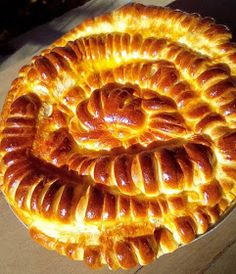 ΜΑΓΕΙΡΙΚΗ ΚΑΙ ΣΥΝΤΑΓΕΣ 2: Ατσμά αλμυρή κουλούρα !!!! Bread, Desserts, Recipes, Food, Tailgate Desserts, Deserts, Brot, Essen, Postres