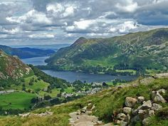 Helvellyn, Lake District, English mountains, walking in Britain
