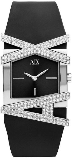 Armani Exchagne AX3121 Ladies AX watch with Crystals -commodityocean.com Armani Watches For Women, Ax Watches, Love Dream, Everyday Fashion, Baby Items, Fashion Outfits, Crystals, Stylish, Lady