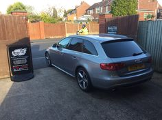 2009 Audi A6 Avant in today for 18% Carbon tints to the rear.