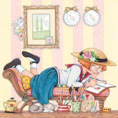 Doodle Doo, Antique Perfume Bottles, Mary Engelbreit, Relaxing Day, Wassily Kandinsky, Fractal Art, Fractals, Vincent Van Gogh, Abstract Landscape
