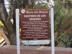 Catamarca, Ruta del Adobe, Pueblo El Puesto. Oratorio de adobe