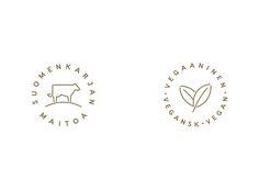Branding & Packaging Design: Suomen Jäätelö by Werklig | HeyDesign Graphic Design & Typography Inspiration