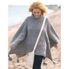 Free Intermediate Women's Poncho