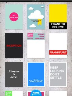 Design your digital invites with 'Phoster'
