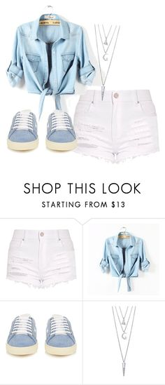 """Untitled #234"" by slythergirl on Polyvore featuring Yves Saint Laurent and BERRICLE"