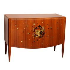 A Fine Art Deco Sideboard by Jules Leleu | From a unique collection of antique and modern sideboards at https://www.1stdibs.com/furniture/storage-case-pieces/sideboards/