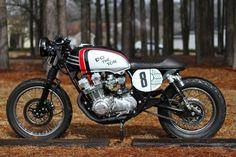 1982 Honda CB750K Do The Ton Cafe Racer Project 1