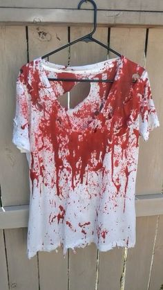 Halloween bloody shirt