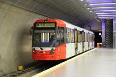 Bombardier Flexity Swift Tram in Bensberg, North Rhine-Westphalia, Germany