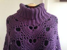 Crochet Virus Poncho with Cowl in Soft by HandmadebyHeikeHeart