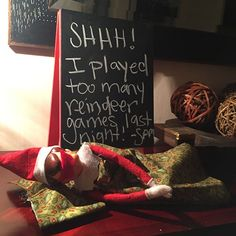 "It's okay to be ""that"" Elf on the Shelf mom"