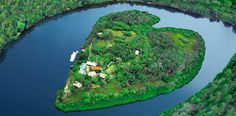 Makepeace Island, Noosa, Queensland  ~  owned by Richard Branson