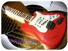 Torta chitarra elettrica