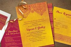 our invite should incorporate our colour theme.. like this :)