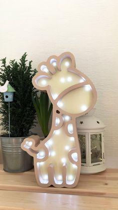 "Lamp for the baby ""giraffe"" Snow Globes, Giraffe, Children, Baby, Home Decor, Kids, Homemade Home Decor, Giraffes, Newborns"