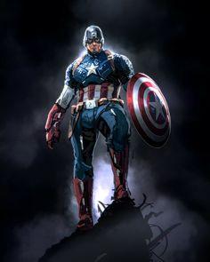 Captain America Pictures, Captain America Art, Chris Evans Captain America, Marvel Heroes, Marvel Avengers, Justice League, Dc Comics, First Superhero, Mundo Marvel
