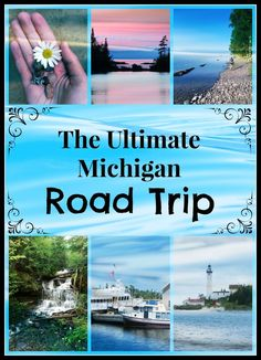 National Parks and Lakeshores, amazing hiking, delicious restaurants and unforgettable wildlife. This Michigan Road Trip itinerary has it all! Road Trip Destinations, Vacation Places, Vacation Spots, Places To Travel, Places To Visit, Vacation Ideas, Italy Vacation, Honeymoon Destinations, Mini Vacation