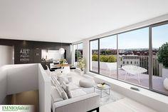 Hochwertige Materialien sowie elegante und klare Architektur gibt den #Wohnungen einen unverwechselbaren Charakter. Bathroom, Underground Garage, Real Estate Agents, Condominium, Architecture, Projects, Washroom, Full Bath, Bath