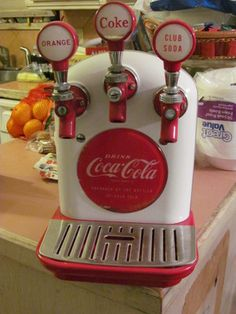 1950s Coca Cola Coke Tombstone Cornelius Soda Fountain Dispenser Learn about your collectibles, antiques, valuables, and vintage items from licensed appraisers, auctioneers, and experts at BlueVault Roadshow Events. Visit: www.BlueVaultSecure.com