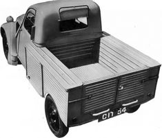 Citroën 2CV Pick-up (Built in Slough UK, the civilian pickup)