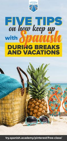Five Tips on How to Keep Up with Spanish During Breaks and Vacations Learn To Speak Spanish, Learn Spanish Online, Spanish Lessons, Teaching Spanish, Detox Challenge, Social Media Detox, Guest Speakers, Spanish Language, New Things To Learn