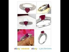 Ruby solitaire Ring 3.00 ct Trillion size 6 Sterling Silver USA SELLER #Gemstone #FineRing #Solitaire…