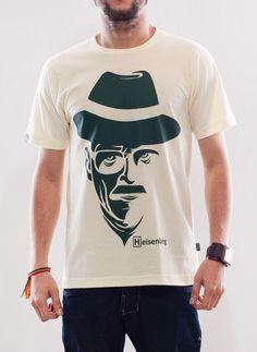 Camiseta Plugging Heisenberg, Feminina e Masculina, 100% algodão