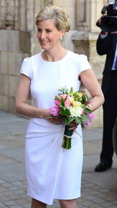 Sophie, Countess of Wessex looked as great as ever.