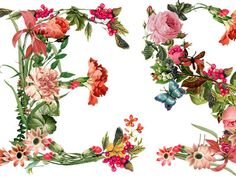 Creative Review - Floral Typography