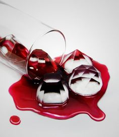 c4e75fdb59 These diamonds ice tray is a great way to glam up your beverage. Serve them  in your favorite cocktail