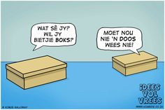 idees vol vrees Visual Puns, Afrikaans Quotes, Safari Adventure, Cool Words, Quotes To Live By, Laughter, Cards Against Humanity, Sayings, Medicine