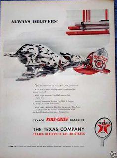1947 Texaco ad