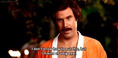 Will Ferrell - Ron Burgandy - Anchor Man