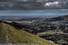 View from Castell Dinas Bran towards Chirk Viaduct by johnkenyonphotography@gmail.com, via Flickr