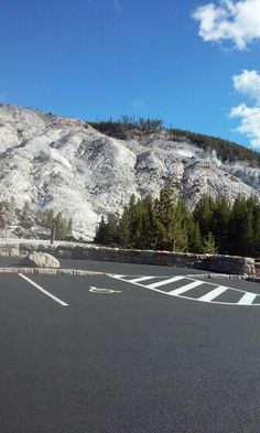 This is from the hot lava under ground. At Yellowstone Park.