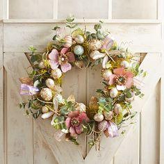 "Capiz Shimmer 21"" Wreath"