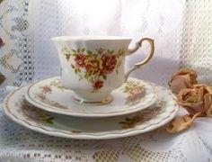 """♫  Prachtgedeck """"Zajecar""""  ♫ von *Cafe-Antique* auf DaWanda.com"""