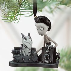 Victor and Sparky Sketchbook Ornament | Ornaments | Disney Store