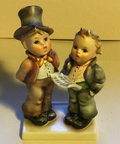 Vintage Goebel Hummel Duet Porcelain Figurine 130 West Germany | Etsy Goebel Figurines, Hummel Figurines, Thoughtful Gifts, Singing, Germany, Porcelain, Vintage, Etsy, Porcelain Ceramics