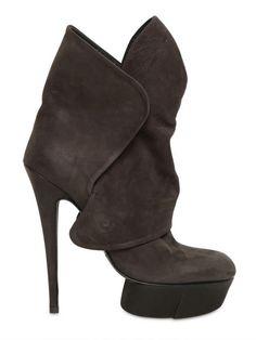 Cinzia Araia 130mm Nubuck Boots
