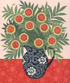 Kate Hudson Printmaker Pincushion Hakea