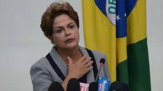 A presidente da República, Dilma Rousseff, fala sobre os protestos contra o governo e a corrupção
