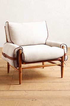 Linen Rhys chair