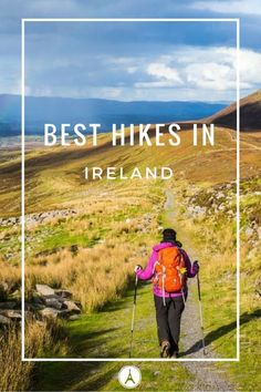 5 Best Hikes in Ireland: What You Need to Know Ireland a beautiful island that has a lot to offer when it comes to mother nature's gifts. Today, we will talk about the five best hikes in Ireland! Ireland is a great place that has a lot of outdoor. Europe Travel Tips, European Travel, Travel Guides, Travel Destinations, Hiking Europe, Travel List, Travel Hacks, Asia Travel, Ireland Hiking